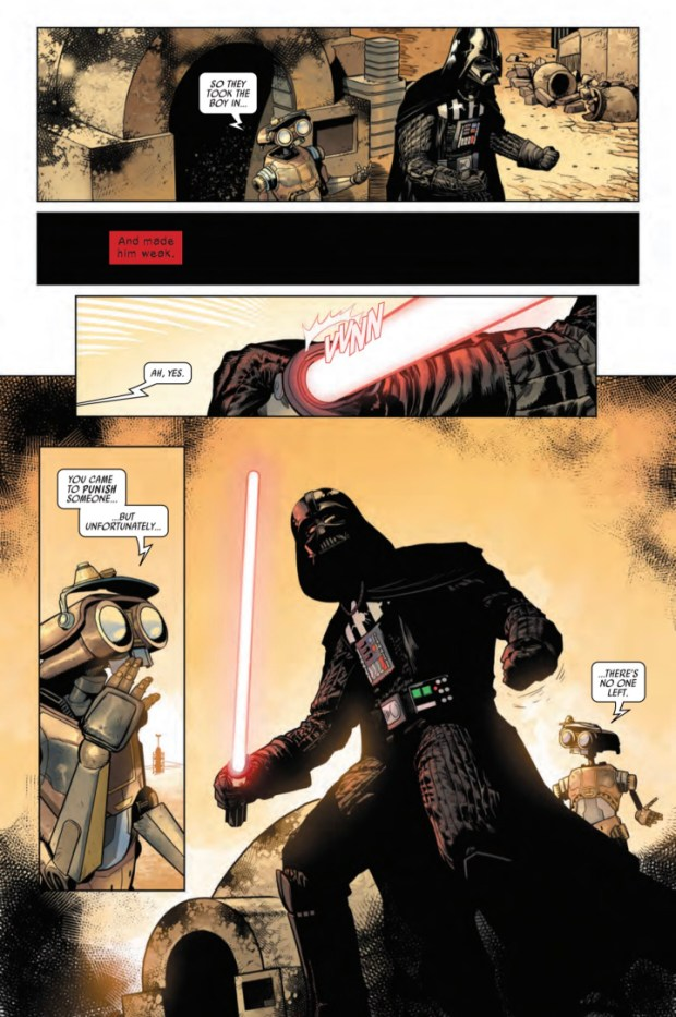 Darth Vader #1 preview page #7
