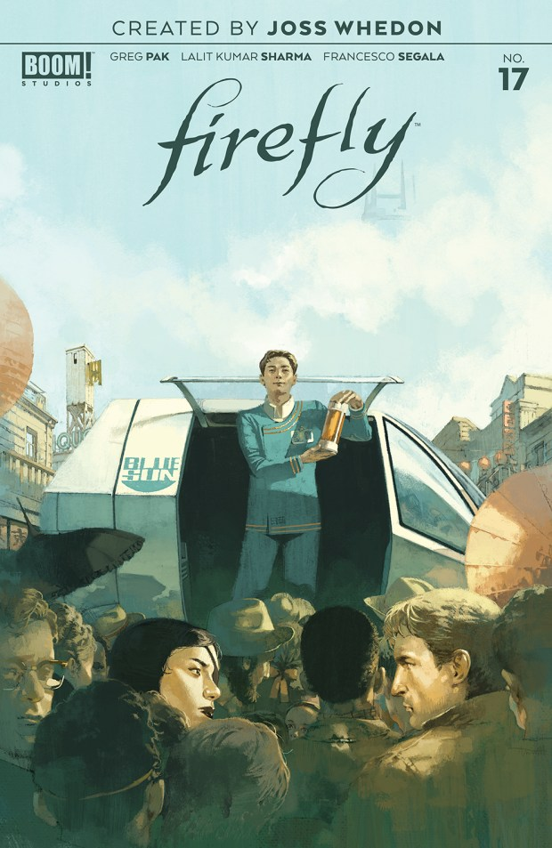 Firefly #17 cover - art by Marc Aspinall