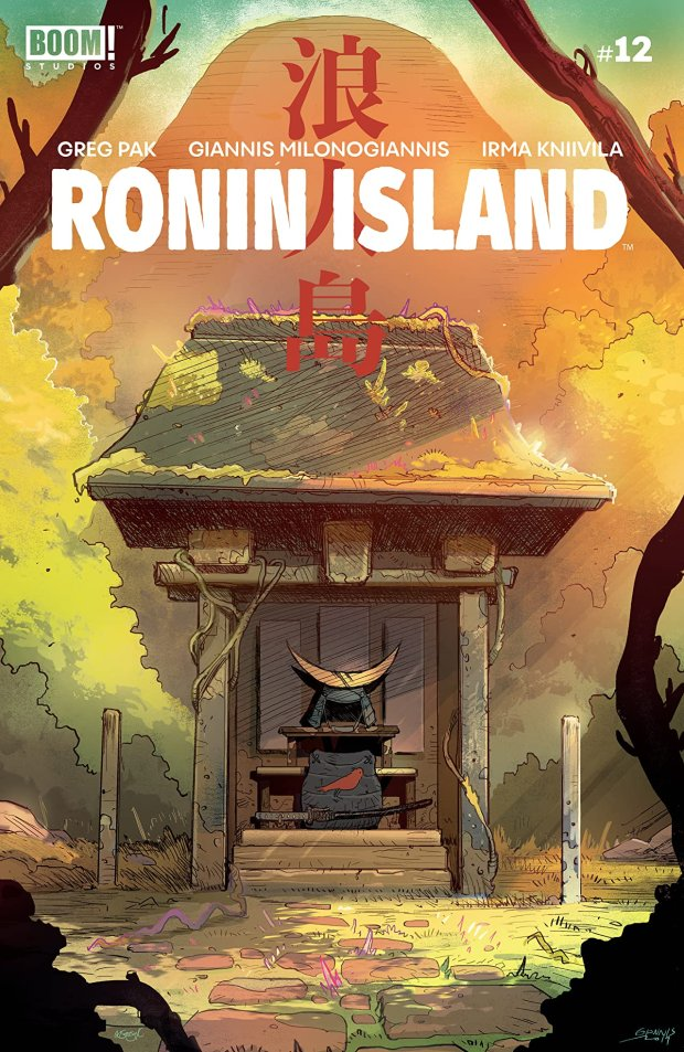 RONIN ISLAND #12 cover