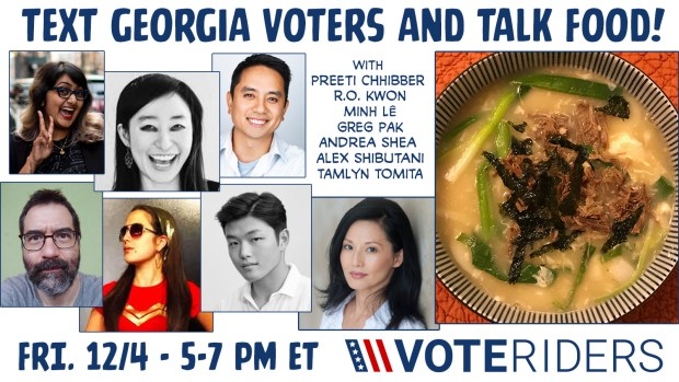 VoteRiders event image - 12/4 5-7 pm