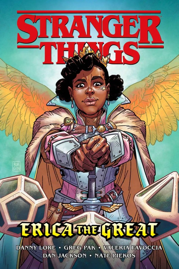 Stranger Things: Erica the Great cover by Ron Chan.