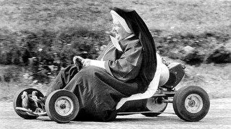 09 Oct 1962, Akron, Ohio, USA - Sister John Bosco of St. Sebastian School - Image by © Bettmann/Corbis