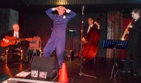 Greg Poppleton and his 1920s - 30s jazz swing band at The Builders, Wollongong