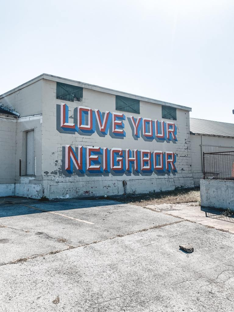 Do you want your neighbor's love