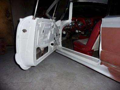 Next stage, Refinish door jamb