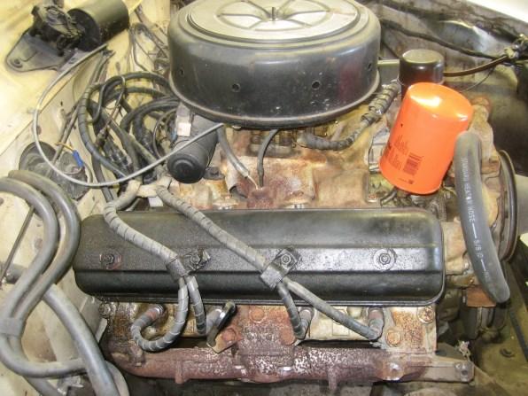 The original engine was a 258