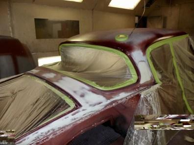 And trunk deck panel repair