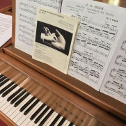 In August of 2017, Greg returned to Ashland Presbyterian Church, playing piano in a service featuring the music of Bach, Scriabin, and others.