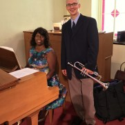In September of 2017, Greg returned to Ashland Presbyterian Church along with organist Sheila Slade Lee in a service including the trumpet music of Charpentier, Handel, and others.