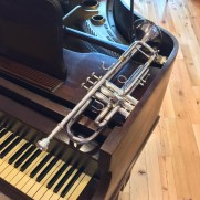 Greg returned to Jesuits Colombiere (Roland Park) in 2019 to play a set of music for trumpet and piano featuring selections from the Great American Songbook.