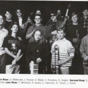 Towson High School Jazz Ensemble, 1994-1995 school year.