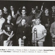 Towson High School Jazz Ensemble, 1994-1995 school year.