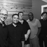 In the late summer of 2019, Greg joined the Grasso-Ravita Jazz Ensemble on a debut recording of all original music at Wright Way Studios. (left to right; Greg Small [piano], Nucleo Vega [drums], Skip Grasso [guitar], Benny Russell [sax], Phil Ravita [bass]