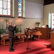 Greg recorded music several weeks before Easter at Ashland Presbyterian Church along with organist Sheila Slade-Lee, helping to create a remote service during the coronavirus pandemic. http://www.ashlandpc.org/online-easter-worship/