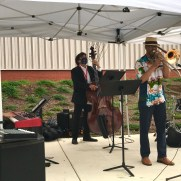 Greg joined trombonist Reginald Cyntje, bassist Phil Ravita, and drummer Keith Umbach in a performance at Prince George's Community College celebrating the retirement of college president Dr. Charlene Dukes in the summer of 2020.