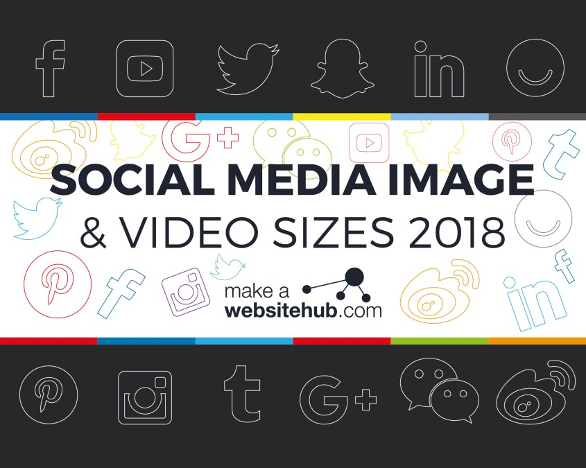 2018 Social Media Cheat Sheets