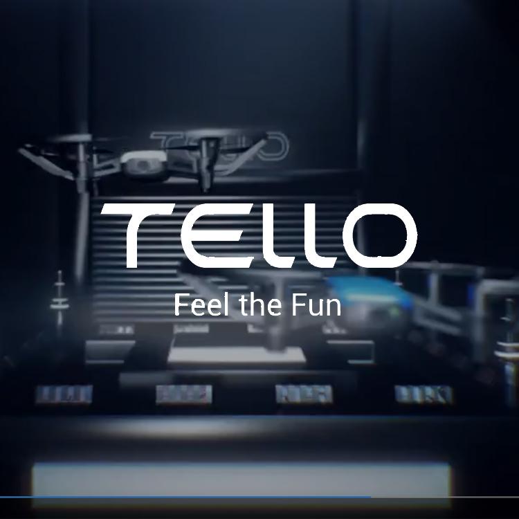 Telloの応用操作方法-トイドローンTelloのアクティブなフライトモードの使い方