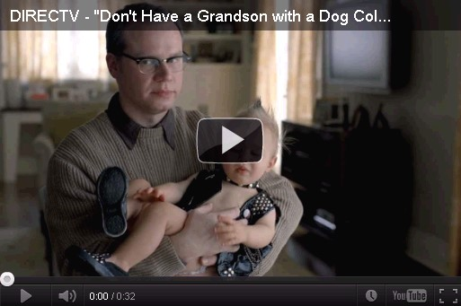 Don't have a grandson with a dog collar