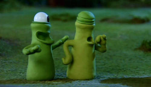 Aliens Talking