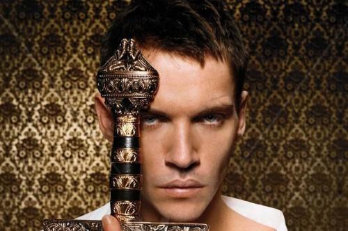 Jonathan Rhys-Meyers as King Henry VIII, in The Tudors