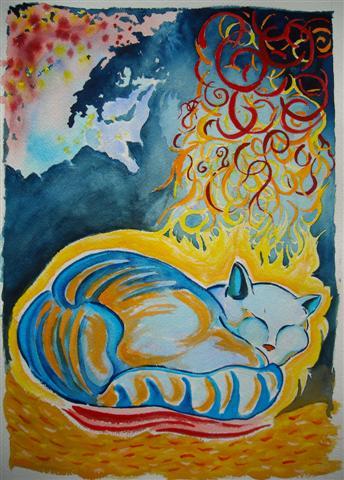 Cat Dreaming