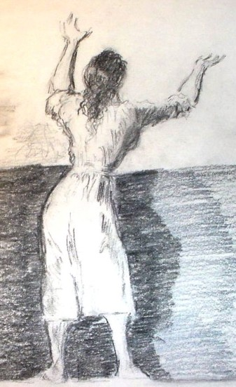 After Goya Sketch