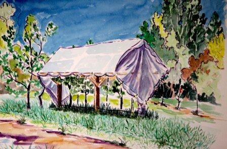 Experimental Organic Tent