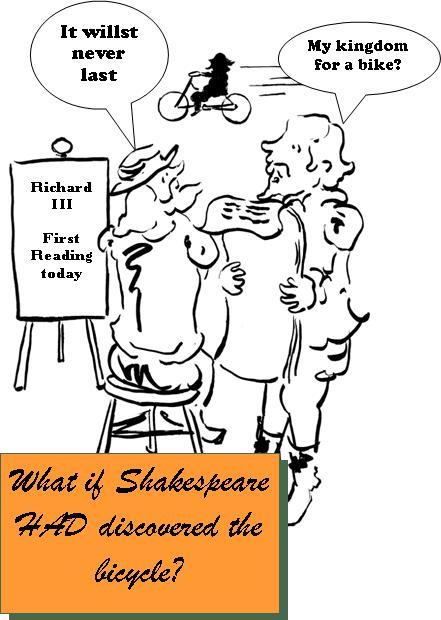 What If Shakespeare - Bike