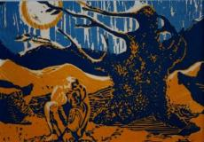 Untitled Lino Print