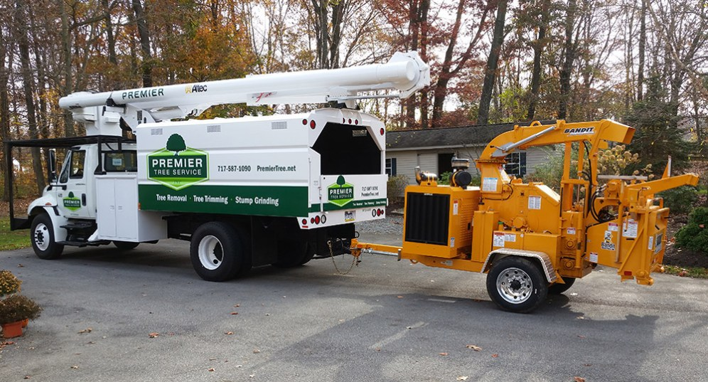Bucket Truck with Graphics