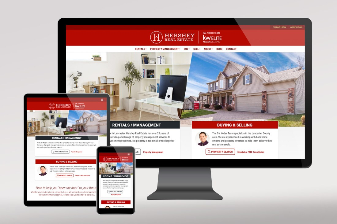Hershey Real Estate website