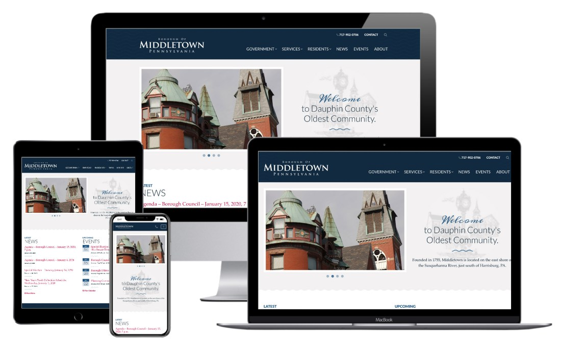 Middletown website
