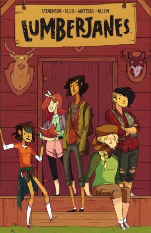 {Grace Ellis, Noelle Stevenson, & Brooke A. Allen} Lumberjanes V01