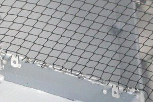 Exclude Pigeons With Netting