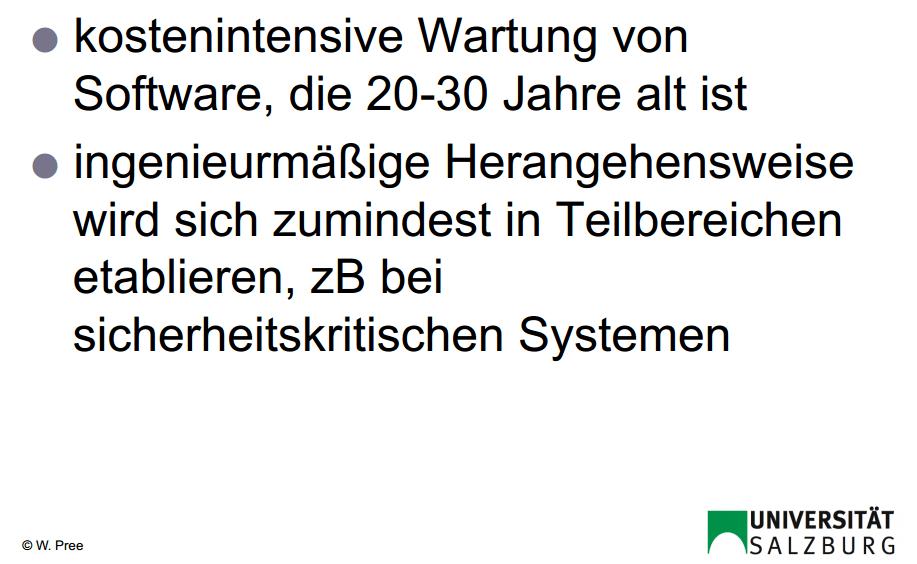 Software Quo Vadis