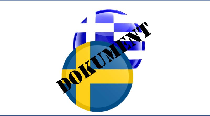 Dokument: Covid-19 i Grekland och Sverige