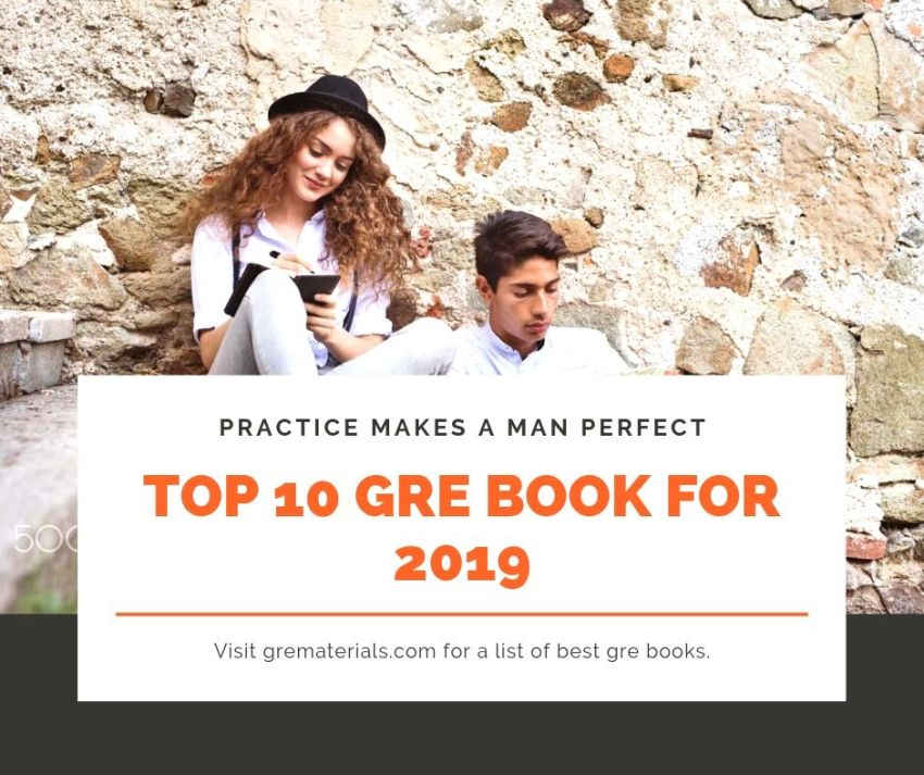 top 10 gre book for 2019