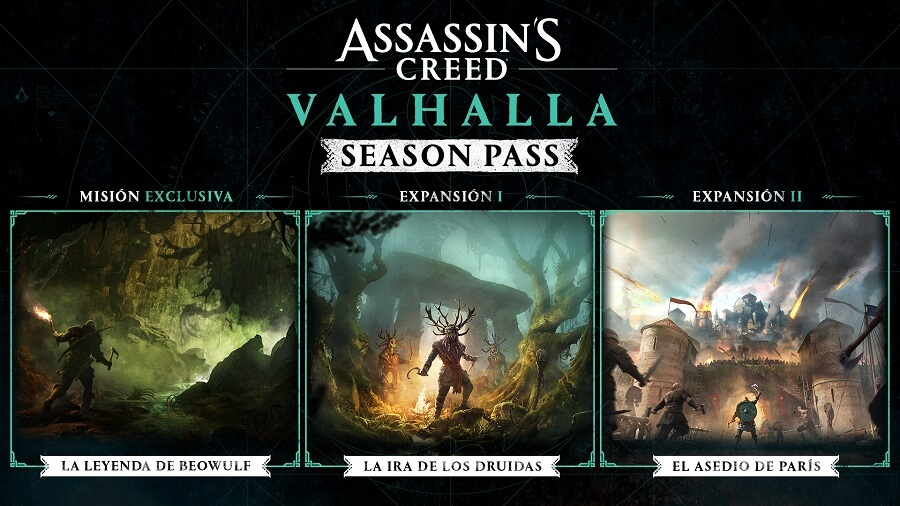 Season Pass de Assassin's Creed Valhalla