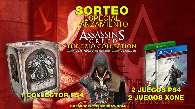 Sorteo Ezio Collection