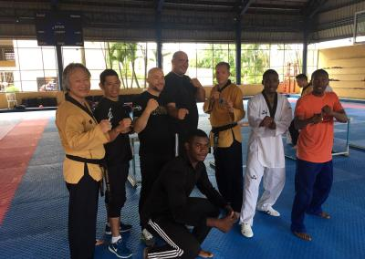 Pan-American Taekwon-do Union 2019 with Participants with Rowan Charles