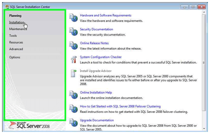 Instalación de SQL Server 2008 Express Edition sobre Windows 7 (5/6)