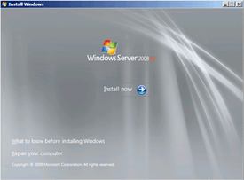 Instalación de Windows Server 2008 R2 with Service Pack 1 (3/6)