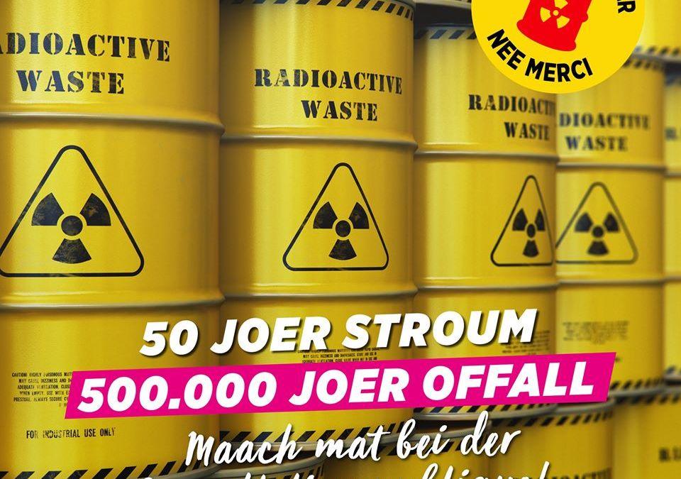 Urgent: Ensemble contre le stockage nucléaire géologique