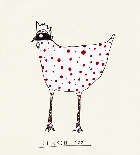Chicken pox strikes twice!