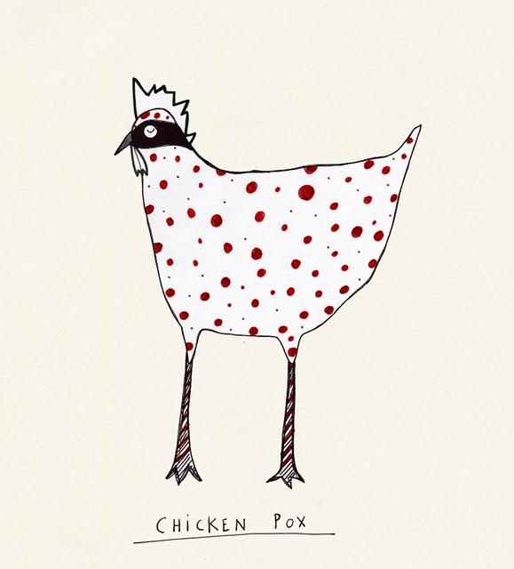 Chicken pox strikes twice