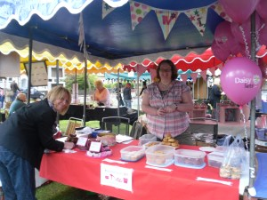 East Dulwich WI, cake stall, Dulwich Festival Fair, Goose Green