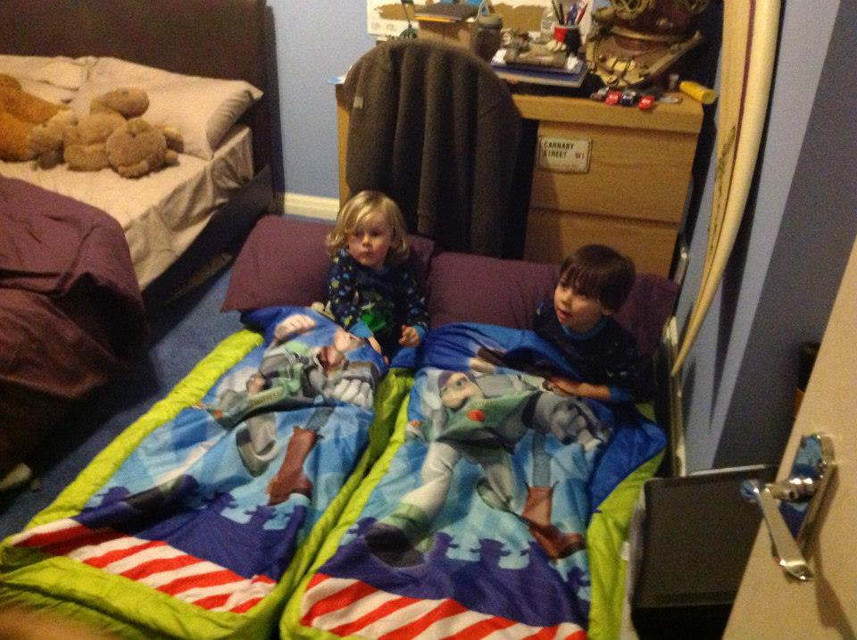 Sleepover in Southend