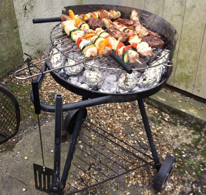The Greek God(zilla)'s Guide to Barbecuing