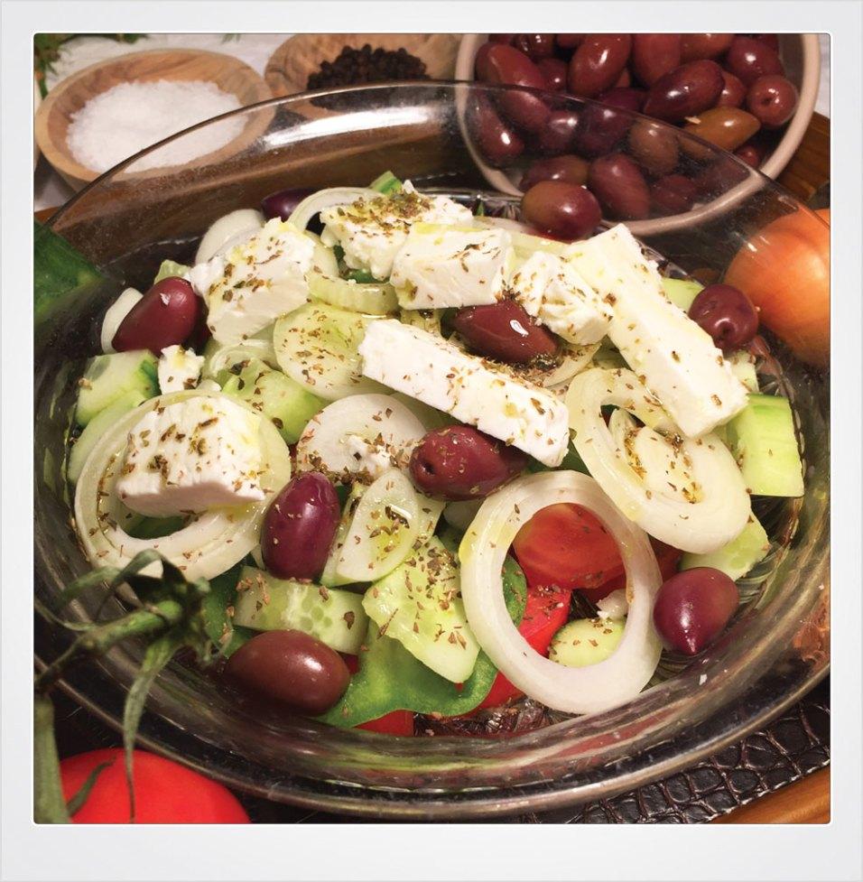 13 Horiatiki Salad