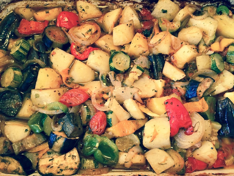 Briam (Greek roasted vegetables)